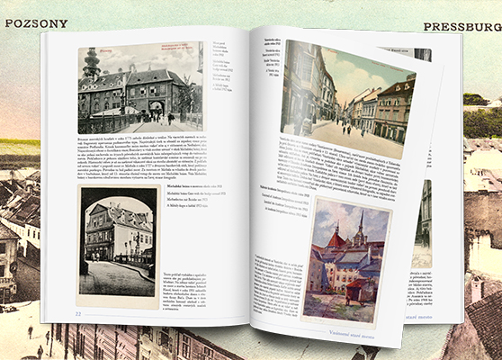 Bratislava staré pohľadnice