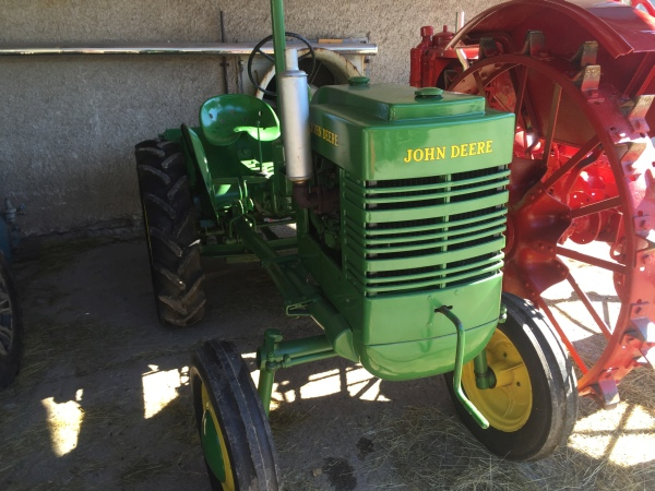 Traktory na Salaši Krajinka