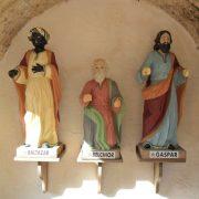 Traja králi téma nápis