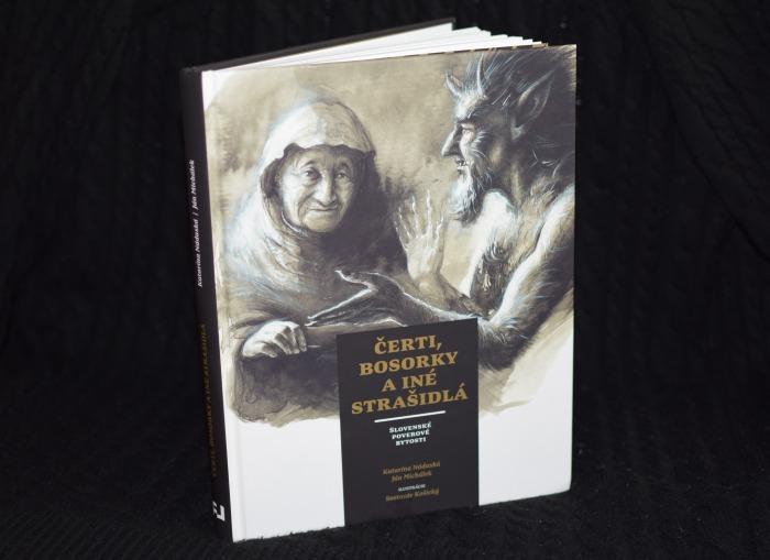 čerti bosorky a strašidlá kniha